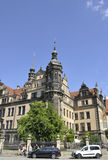 Dresden,August 28:Residence Palace view from Dresden in Germany Royalty Free Stock Image
