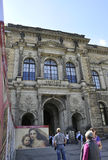 Dresden,august 28:Zwinger Palace entrance from Dresden in Germany Stock Images