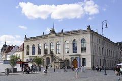 Dresden, 28 augustus: De museumbouw van Dresden in Duitsland Stock Foto