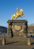 Dresden, Augustus the Strong Royalty Free Stock Photography