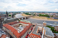 Dresden and bridge Royalty Free Stock Photography