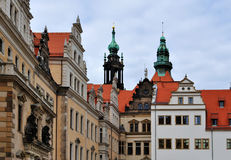 Dresden Castle Stock Image