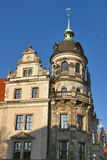 Dresden Castle Stock Photo