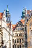Baroque architecture in Dresden Royalty Free Stock Images