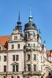 Baroque architecture in Dresden Royalty Free Stock Image