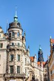 Baroque architecture in Dresden Stock Image