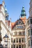Baroque architecture in Dresden Stock Photo