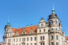 Baroque architecture in Dresden Stock Photos