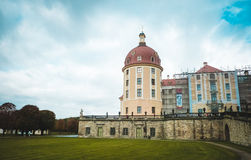 Dresden, Castle of Morizburg in Germany. View of big castle in Germany Royalty Free Stock Image