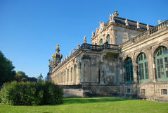 Dresden Castle (the residence) view from the back Royalty Free Stock Photography