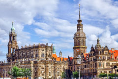 Dresden Castle or Royal Palace Royalty Free Stock Images