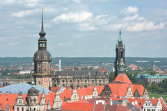 Dresden castle tower Royalty Free Stock Photos