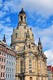 Dresden cathedral Stock Photography