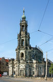 Dresden Cathedral, Germany Royalty Free Stock Image