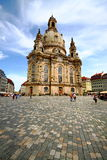 Dresden cathedral Royalty Free Stock Photography