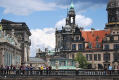 The Dresden Cathedral Stock Photos