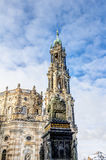 Dresden cathedral in the old town Royalty Free Stock Photo
