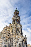 Dresden cathedral in the old town Stock Images