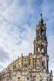 Dresden cathedral in the old town Stock Photos