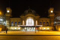 Dresden Central Station Royalty Free Stock Photo