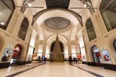 Dresden centralstation Royaltyfri Foto