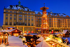 Dresden christmas market Royalty Free Stock Image