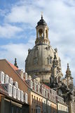 Dresden Church Stock Image