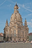 Dresden - Church of our Lady Stock Image