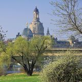 Dresden Church of Our Lady Royalty Free Stock Photo