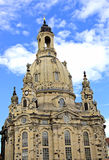 Dresden. Church  in Dresden  in the summer (Germany Royalty Free Stock Photo