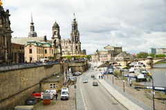 Dresden city Stock Photography