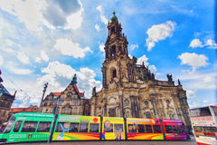 Dresden city center - Old Town Stock Photo