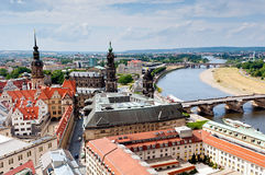 Dresden city Royalty Free Stock Image