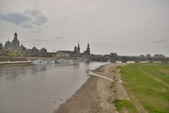 Dresden city view Stock Images
