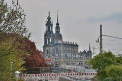 Dresden city view Stock Photo