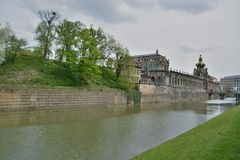 Dresden city view Royalty Free Stock Photography