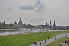Dresden city view Stock Photography