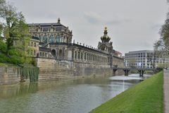 Dresden city view Royalty Free Stock Photo