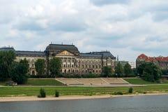 Dresden-Dammansicht, Deutschland lizenzfreies stockfoto
