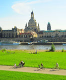 Dresden day off Royalty Free Stock Photography