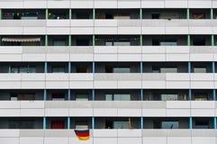 Dresden - de geprefabriceerde bouw royalty-vrije stock afbeeldingen
