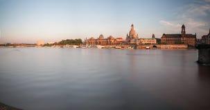 Dresden in de ochtend Royalty-vrije Stock Foto