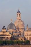 Dresden in de ochtend Stock Foto