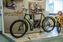 DRESDEN, DEUTSCHLAND - MAI 2015: Motorrad Republik 1899 in Dresden Lizenzfreie Stockfotos