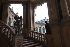 Dresden, Deutschland Statuen und Monumente lizenzfreie stockfotografie