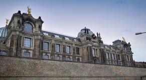 """DRESDEN, DUITSLAND € """"13 AUGUSTUS, 2016: De Academie van Dresden van Fijn AR Royalty-vrije Stock Afbeelding"""