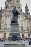 "DRESDEN, DUITSLAND € ""13 AUGUSTUS, 2016: Frauenkirche Onze Damechu Royalty-vrije Stock Foto's"