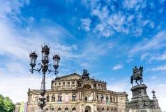 Dresden, Duitsland stock foto