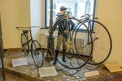 DRESDEN, DUITSLAND - MAI 2015: stuiver-farthing Dresdner 1888, Eurek Royalty-vrije Stock Fotografie