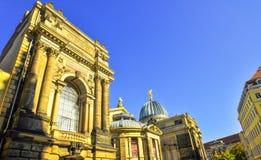 Dresden Duitsland op een zonnige dag Stock Afbeelding
